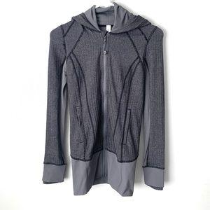Lululemon Heathered Gray Daily Practice Jacket 2
